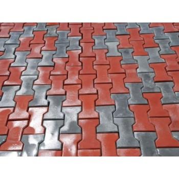 Плитка тротуарная «катушка» 60мм ПТГ-8-350-F200-240 (КЦТ-КК-23)