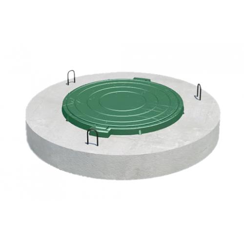 Плита перекрытия ПП 10-2 с ЛПП d 1м