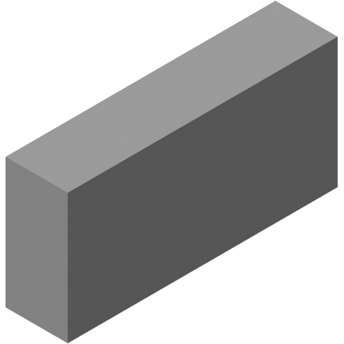 Блок стеновой полнотелый КСЛ-ПР-ПС-39-100-F50-2200 (СКЦ-КК-13)