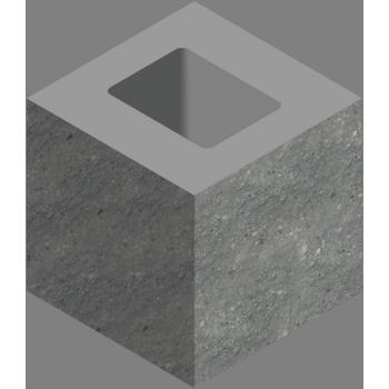 Блок добавочный декоративный угловой СКЦД-КК-30
