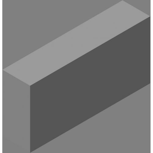 Полублок полнотелый (СКЦ-КК-38)