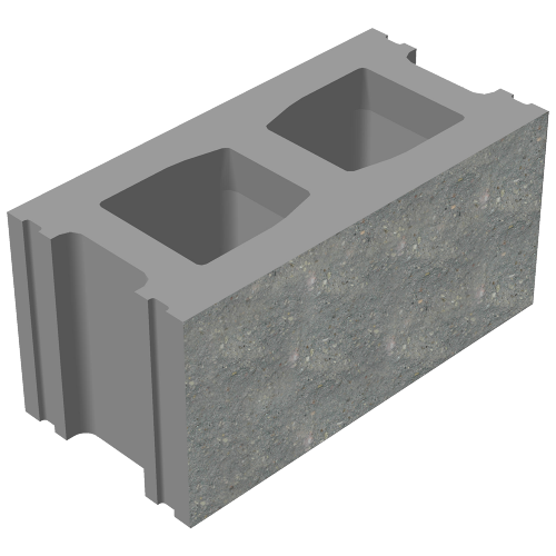 Блок стеновой декоративный лицевой СКЦД-КК-8